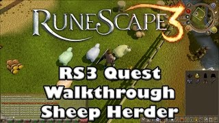 Rs3 Quest Guide - Sheep Herder - 2017 (Up to Date!)