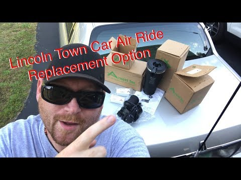 Lincoln Town Car Air Ride Replacement Option