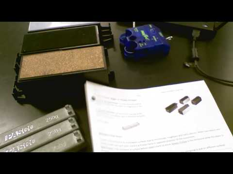 5A Friction Forces -  Static V.s. Kinetic Friction Part 1 with spring scale