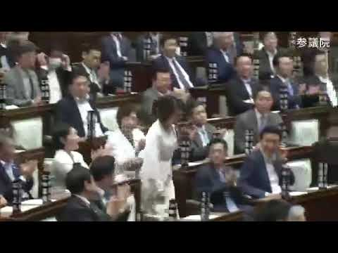 【公式】参議院議員三原じゅん子 安倍内閣総理大臣問責決議案 反対討論