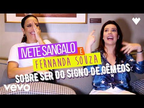 Ivete Sangalo - SOBRE SER DO SIGNO DE GÊMEOS