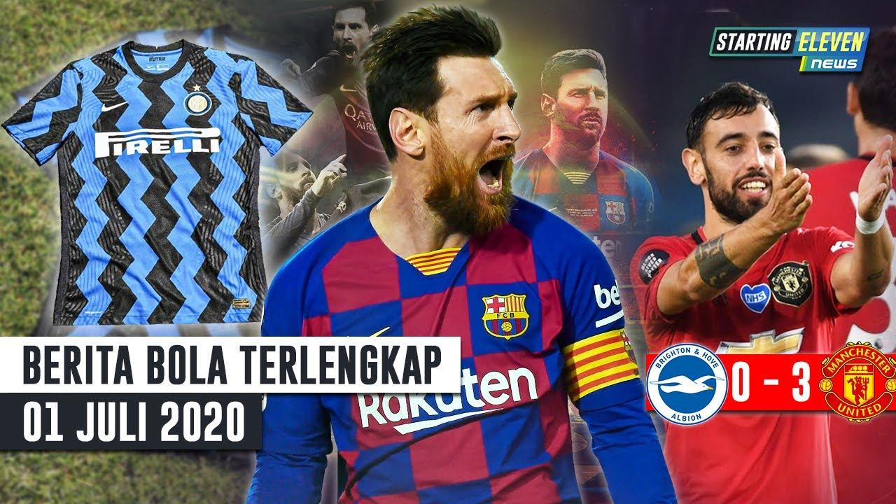 Gol Ke-700 Messi 😱 Bruno BRILIAN, MU Hajar Brighton 😱 Jersey Unik Inter Milan - Berita Bola Terbaru