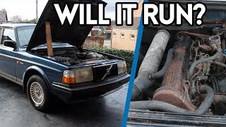 Trying To Start Our €350 Volvo 240 After 10 Years Of Sitting