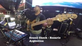 Sound Check Rosario Argentina Nov 2016 Christine D'clario - Rey - En el trono está