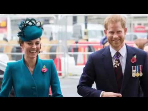 Prince Harry Joins Duchess Kate To Anzac Day Service At Westminster Abbey 2019