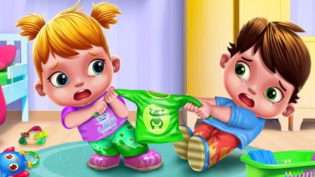 Baby Twins Terrible Two Kids Games Play Learn Tabtale