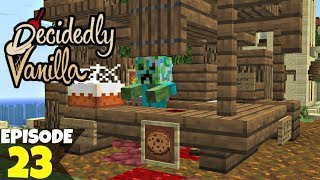 Decidedly Vanilla S5 Ep23 Trick Or Treat! 🎃 A Minecraft Survival Lets Play