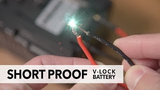 World's FIRST Short Proof V-Lock Battery (Gen Energy) - 日本語の字幕付き