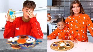 I tried Kylie Jenner & Stormi's Halloween Cookie Recipe