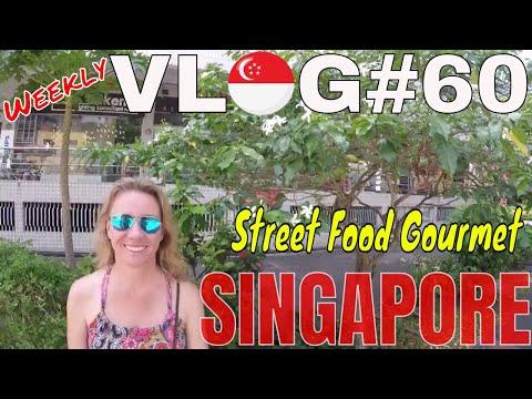 SINGAPORE \\ STREET FOOD GOURMET & BUS TRAVEL // VLOG#60