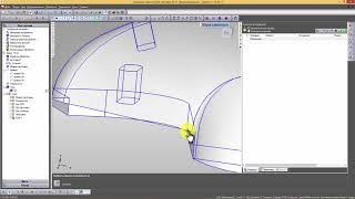 PowerShape-Powermill -FeatureCam- создание справочной поверхности из нескольких
