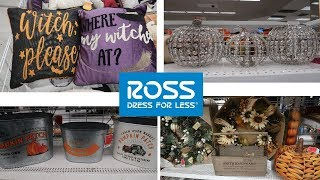 ROSS DRESS FOR LESS!!! FALL & HALLOWEEN DECOR