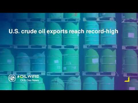 U S  crude oil exports reach record high