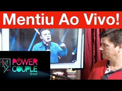 Gugu mente na cara dura na eliminação do Power Couple Brasil! Veja...