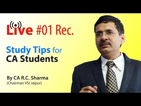 Ask Any Question to CA R.C.Sharma (Chairman VSI Jaipur)