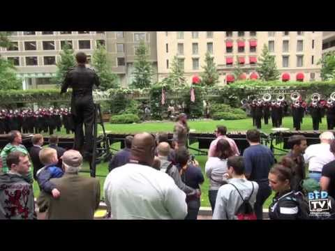 """Boston Crusaders """"Extras"""" @ Inspire Arts and Music's Concert in the Park - 6.12.14 - BFDTV"""