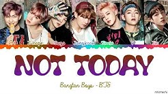 Download BTS not today mp3 free and mp4