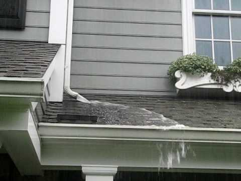 Gutter Overflow 1 Youtube