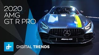 2020 AMG GT R Pro - First Look at the 2018 LA Auto Show