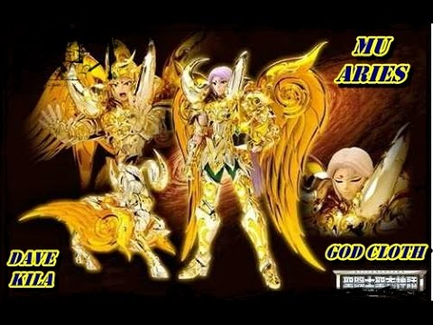 Mu De Aries God Cloth + Gold Stage Set - Unboxing + Review