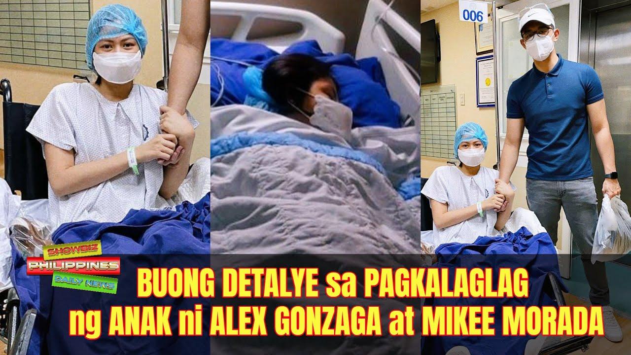 BUONG DETALYE sa PAGKALAGLAG ng ANAK ni Alex Gonzaga at Mikee Morada