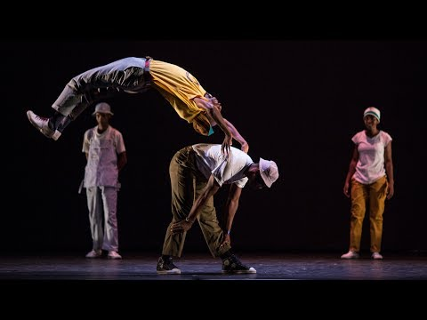 Soweto Skeleton Movers pantsula jive South Africa street performers - Breakin' Convention 2016