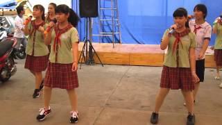 Tập dợt bài Tựu Trường (2) - Lớp 9A13