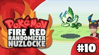 pokemon firered randomizer nuzlocke episode 10 celebi