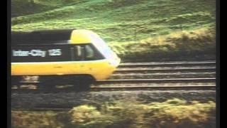 British Rail TV advert - Flying Scotsman v Intercity