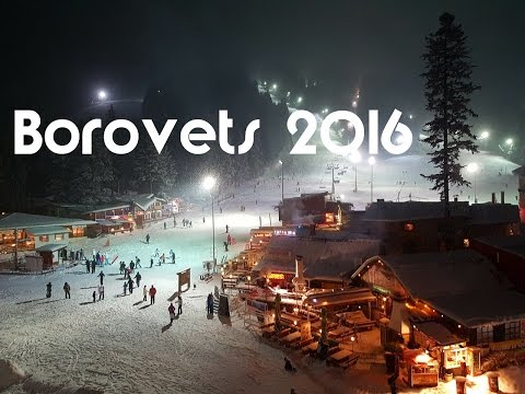 Borovets Resort, Bulgaria December 2016