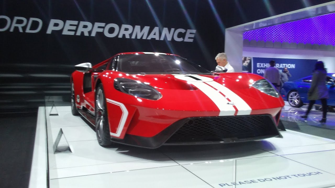 Ford Gt In Liquid Red With A   Litre Engine  Toronto Autoshow Tmd