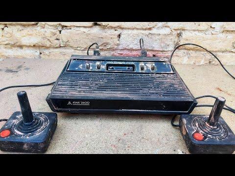 1970's Gaming Console Restoration Atari 2600