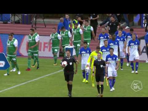 FC Lausanne-Sport vs FC St. Gallen 3-3 Highlights - Switzerland Super League