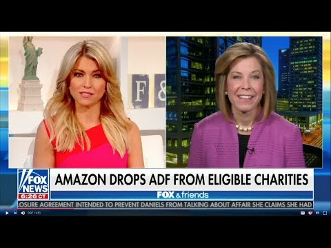Kristen Waggoner discusses Amazon's decision to remove ADF from their AmazonSmile program