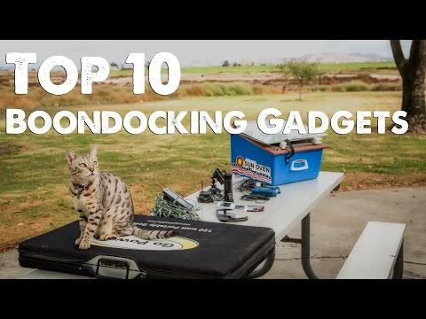 Our Top 10 Best Boondocking Gadget Countdown