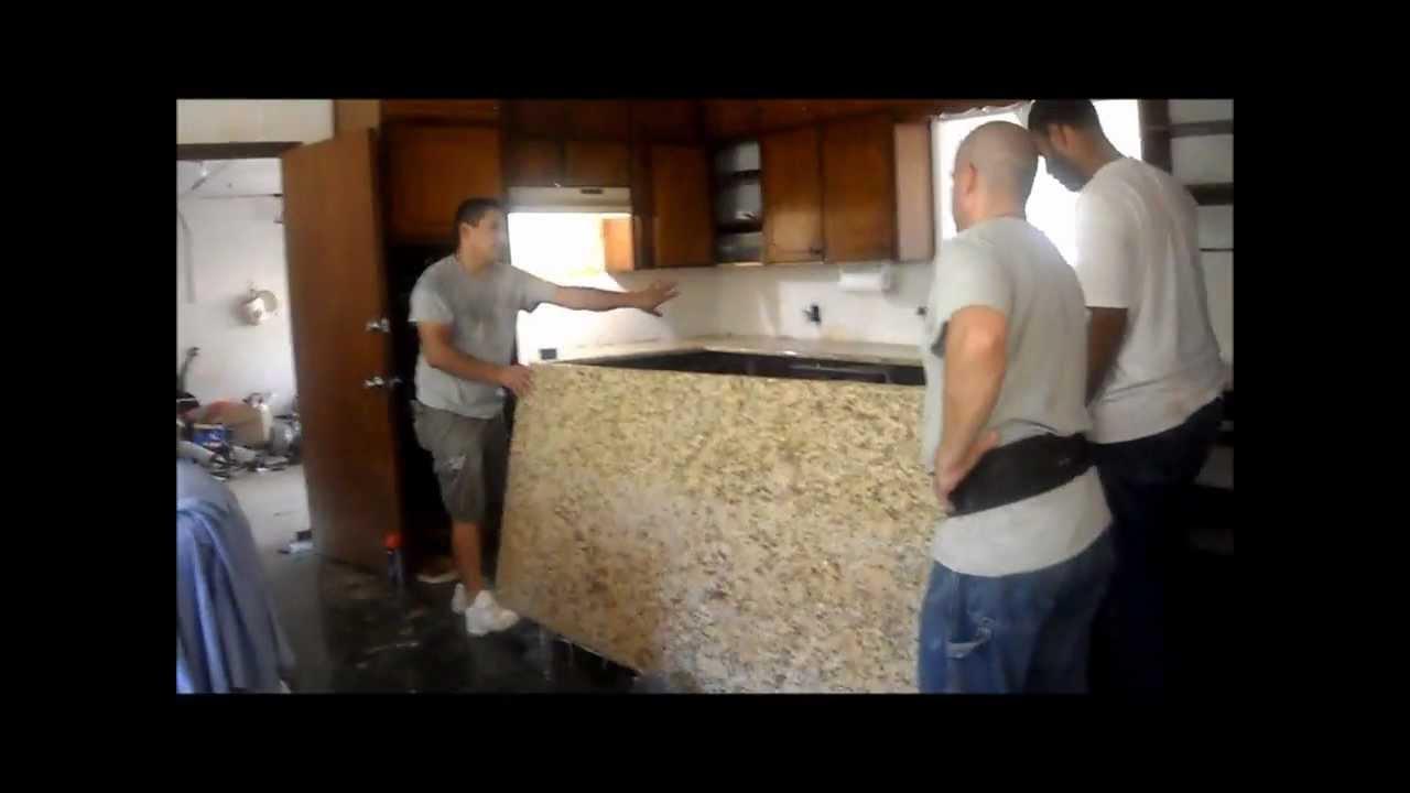 Do It Yourself Kitchen Remodel Part Iii Granite