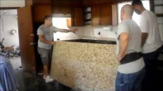 Do It Yourself - Kitchen Remodel Part Iii - Granite Countertop Installation