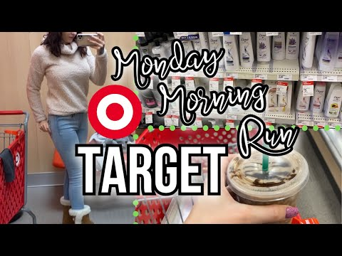 Monday Morning Target Shopping | COUPON WITH ME | & Walmart Clearance