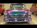 [WOW] 1955 Chevy Bel Air in Chameleon paint! Car Classic