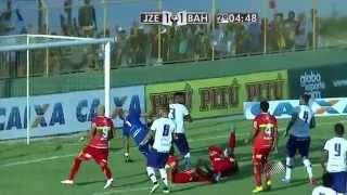 Melhores Momentos - Juazeirense 1 x 2 Bahia   Campeonato Baiano 2015