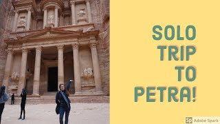 Solo Trip to Petra!