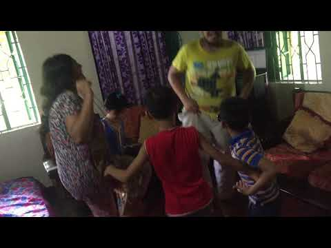 Kids dance Party-  taang uthake ( Borno and his brother and sister )