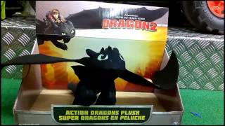 Toys R Us How To Train Your Dragon 2 Toys Toothless Toy Review
