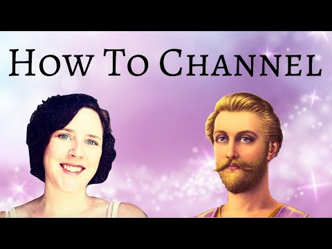 Ascended Master St.Germain - Channeling Light Language How To Channel With Trance Channel TaraArnold