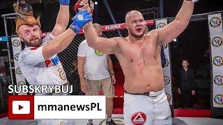 PLMMA 77: Łukasz Warchoł przegrał mistrzowski pas, ale wygrał życie