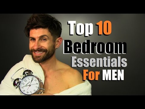 Top 10 Men's Bedroom Essentials EVERY Guy Needs