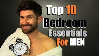 Top 10 Men's Bedroom Essentials Every Guy Needs
