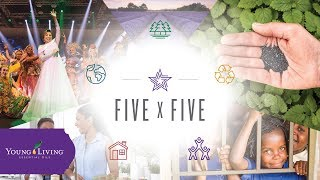 The Young Living 5x5 Pledge