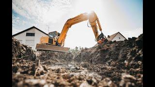 Начало стройки домов в Германии, недвижимость в германии, построить дом в германии