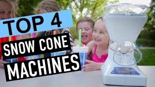 BEST 4: Snow Cone Machines 2018